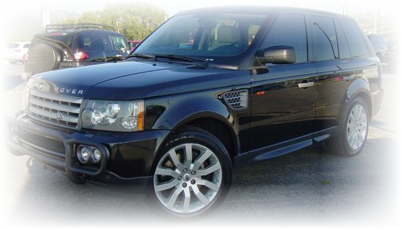 Range Rover Sport with supercharger